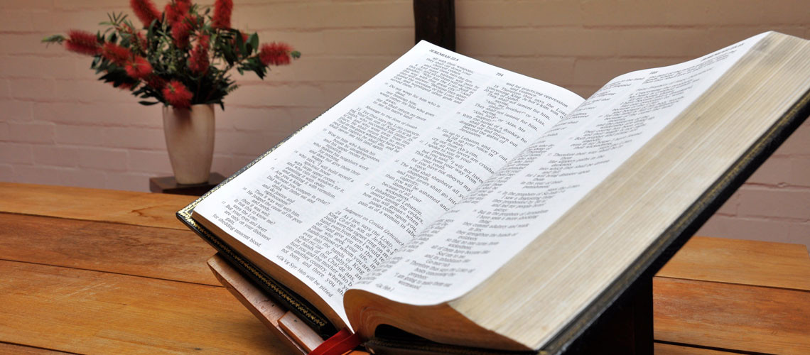Worship Bible at St Martin's