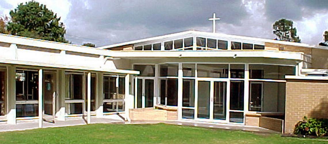 Rear of Beaumaris Uniting Church