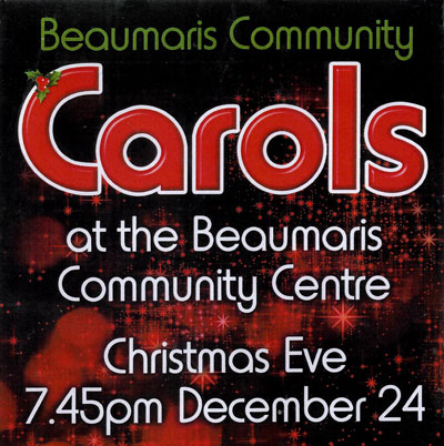 Beaumaris Community Carols