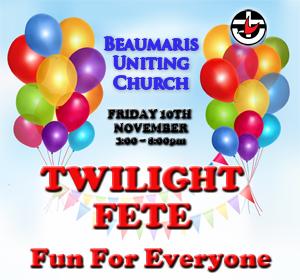 Church Twilight Fete November 10th 2017
