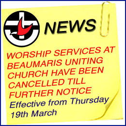 Church worship services closed due to Coronavirus