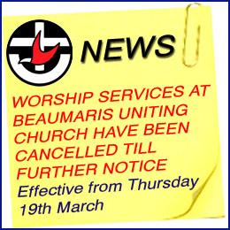 Church worship services closed due to Coronavirus