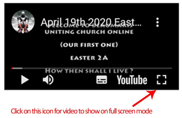 YouTube Full Screen