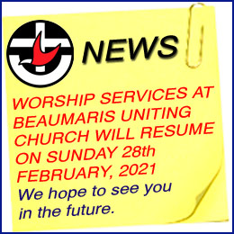 Church sErvices are resuming